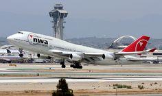 Northwest Airlines Boeing 747