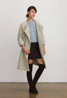 Boyd Coat, Yaggi Sweater and Emmie Skirt | Samuji Resort 2015 Collection