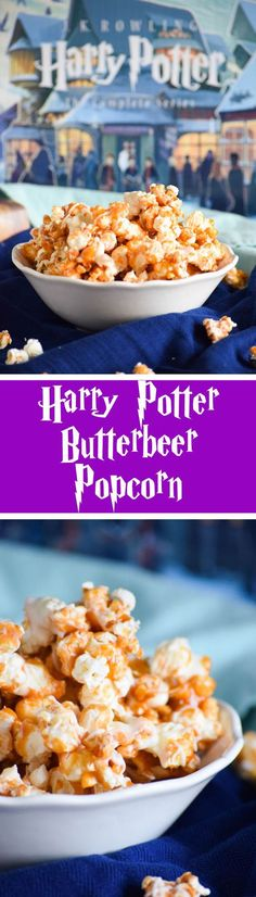 Harry Potter Butterbeer Popcorn: the perfect snack for your witches and wizards!