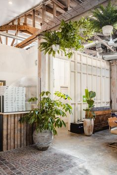 A New Restaurant With a Rustic Industrial Warehouse Aesthetic