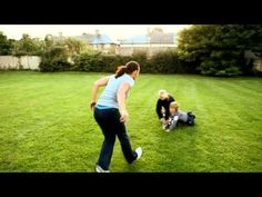 Fit Club On the go workouts - Playing with kids in the park | NIVEA Fit Club | On The Go Exercises
