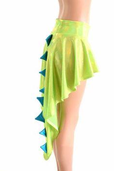 dragon tail skirt -modified circle skirt