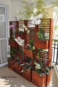 Mueble de flores