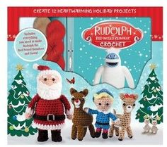 Thunder Bay Press Rudolph The Red Nosed Reindeer Crochet Kit