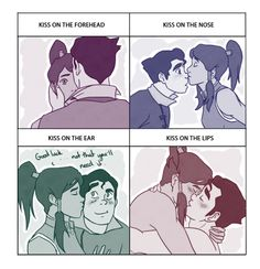 Bolin and Korra, kiss meme!