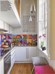+deco: 19 Greek Street : we love colours