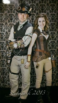 Steampunk Costume Ideas - 30 Creative DIY Steampunk Costumes- photo shoot ideas