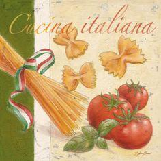 ahh good smells in an Italian cucina...