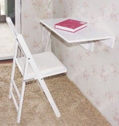 SoBuy Wall-mounted Drop-leaf Table, Folding Kitchen