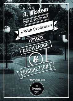 the proverbs project.