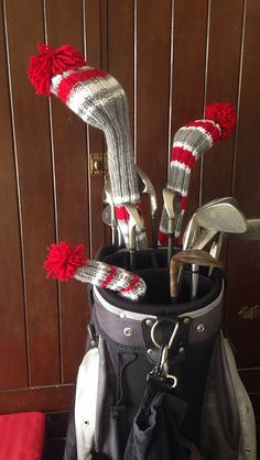 73 Best Golf Club Covers Images In 2019 Knit Stitches Knitting