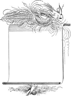Clip Art Etc: Birds. Perfect for notepaper. Wiccan Spells, Magick, Magic Spells, Bird Clipart, Calligraphy Drawing, Borders And Frames, Journal Paper, Writing Paper, Book Of Shadows