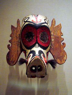 Kenyah/Kayan mask (Hudoq)  Borneo