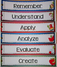 Reading Reflections with Bloom's Taxonomy