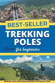 Looking for a budget set of trekking poles but don't know where to start? Learn about the basics of hiking poles: how to use them, tips, why walking with them can benefit you, and more! Included are 8 of the best-selling beginner budget trekking poles on the market, all for under $60 to get you started! These are perfect for beginners wanting to try them out! #trekkingpoles #hiking #hikingtips Best Backpacking Tent, Best Hiking Gear, Hiking Tips, Camping And Hiking, Walking Poles, Hiking Essentials, Best Budget, California Travel, Travel Usa
