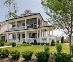 Beautiful double covered porches