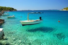 Bay Of Milna - crystal clear sea with stunning beaches on Brac Island