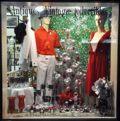 Dress to impress this holiday season! We've got you covered for all the Christmas cocktail parties with Lusterware drink sets, formal vintage clothing, and vintage jewelry for men and women! :: Lost Marbles Antiques, Sioux Falls, South Dakota