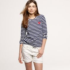 i love a striped tee. especially when it is comme des garcons.