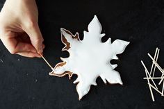 Using Royal icing from Food52