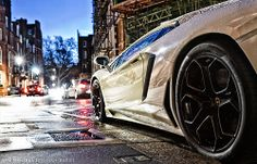 Lamborghini #car #white