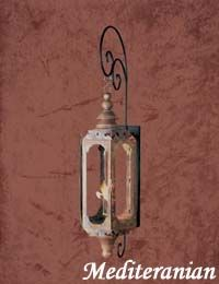 The Mediterranean Lantern — Gas or Electric | The Architectural Series Lanterns | Carolina Lanterns http://carolinalanterns.com/The-Mediterranean-117.html