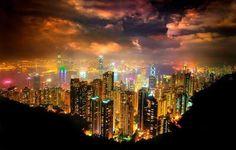Beautiful Skyline - Hong Kong