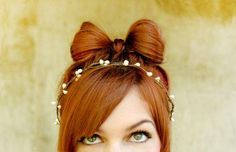 We've gathered our favorite ideas for Love My Hairstyle How To The Hair Bow Hairstyle, Explore our list of popular images of Love My Hairstyle How To The Hair Bow Hairstyle in bow hair style. My Hairstyle, Pretty Hairstyles, Bow Hairstyles, Holiday Hairstyles, Hair Updo, Everyday Hairstyles, Hairstyle Ideas, Hair And Makeup Tips, Hair Makeup