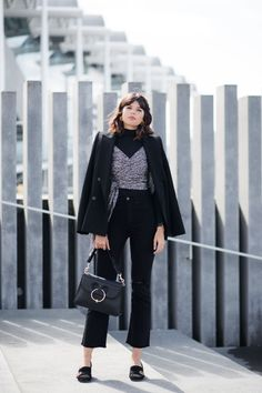 How To Style Cropped Flares