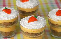 Carrot Cake Trifles
