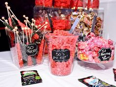 Candy Buffet highlighting how Fabulous it is to be 50