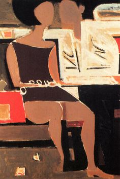 Yiannis Moralis Greek Paintings, Ecole Art, Greek Art, Modern Artists, Figure Painting, New Art, Sculpture Art, Contemporary Art, Abstract Art