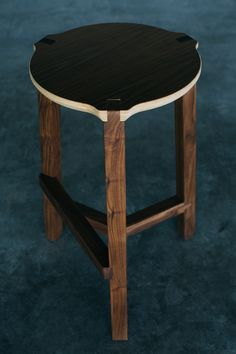 Housefish Tercet Bar Stool- made in Denver.