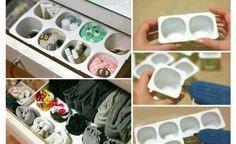 ¿Cómo ordenar el cajón de ropa interior?