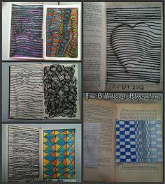 Fru Billedkunst - NY ADRESSE - www.FruBilledkunst.dk: Op art