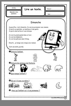 Read In French, Learn French, Reading Resources, Reading Activities, Teaching French Immersion, Grade 1 Reading, Child Sponsorship, French Worksheets, French Education
