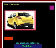 Haima 2 VIN Decoder - Lookup Haima 2 VIN number. 153810 - Haima. Search Haima 2 history, price and car loans.