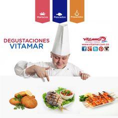 ¡Inicia nuestro recorrido de degustaciones Vitamar! con lo mejor en #Pescados y #Mariscos  #HOY estaremos de 10:00 am a 3:00 pm en el  Éxito Poblado compartiendo con ustedes nuestros deliciosos productos. #Disfruta y #AlimentateSanamente   #PROMOCION: Por la compra de $15.000 en productos @VitamarPescados, te regalaremos un paquete de Papas Fritas Vitamar  ¡Aprovecha!