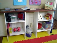 How To Create a Kid-Friendly Crafts Room : How-To : DIY Network