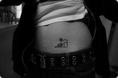 very special design #cat #tattoo