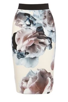 Coast Cordella pencil skirt and other apparel, accessories and trends. Browse and shop related looks. Pencil Skirt Work, Pencil Skirt Casual, Printed Pencil Skirt, Floral Print Skirt, Pencil Skirts, Pencil Dresses, Pastel Skirt, Bandage Skirt, Summer Skirts