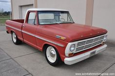 1968 Ford F100 SWB Maintenance/restoration of old/vintage vehicles: the material for new cogs/casters/gears/pads could be cast polyamide which I (Cast polyamide) can produce. My contact: tatjana.alic@windowslive.com