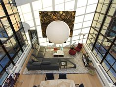 contemporary penthouse New York (2)