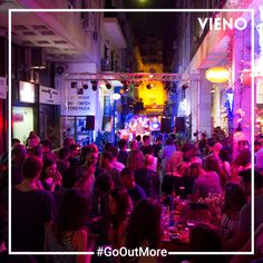 Discovering Athens by night with VIENO. Athens By Night, Drinking Every Night, Cool Bars, Have Fun, App, Apps
