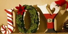 Joyful Holiday Letters | AllFreeChristmasCrafts.com