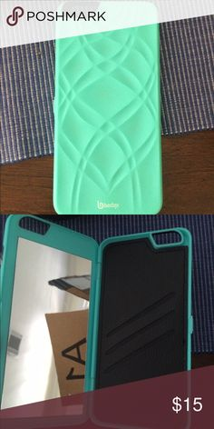 iPhone 6 Plus case This is an amazing case. It has a mirror and card slot that are hidden, so no one knows you have it there. It is brand new with tags Accessories