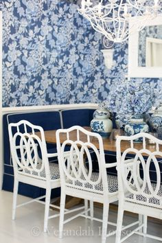 Living with the blues on pinterest blue and white ginger jars and chinoiserie chic - Verandah house interiors ...