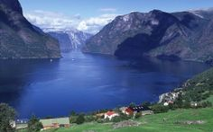 WALLPAPERS HD: Aurlandsfjord Norway