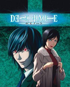 Poster Death Note Mikami and Takada. I hate takada