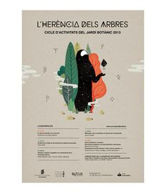 Jardí Botànic de València 2013 - Poster Design by Casmic Lab